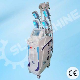 Machine professionnelle de cryolipolyse 4 cryodes avec lipo-cavitation, lipolasers et radiofréquence